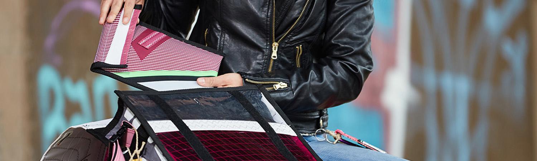 Reduzierte Taschen Accessoires aus Segeltuch